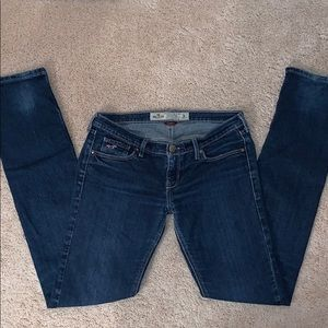 Hollister Distressed Stretch Skinny Jeans Size 3R